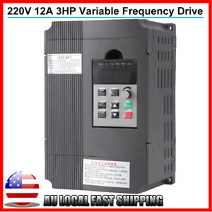 2 2kw 220v 3hp 12a Vfd Single Phase Variable Frequency Drive Inverter Top