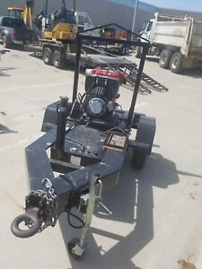 Multiquip Qp4tztmpxf Qp4tz Trash Pump Mounted On Trlrmpxfp Trailer __used