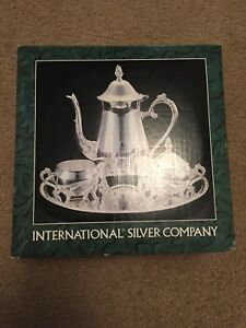 International Silver Company Silver Plate 4 Piece Coffee Set 99115002