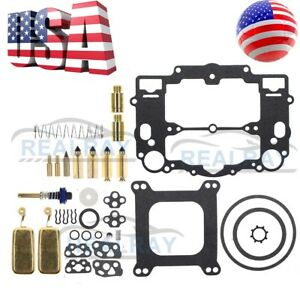 Carburetor Rebuild Carb Repair Kit For Edelbrock 1477 1400 1826 1812 650 700 750