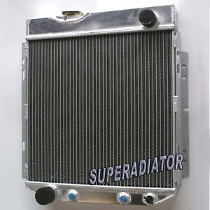 3 Row Aluminum Radiator For 1964 1966 Ford Mustang I6 170 200 2 8l 3 3l New 1965
