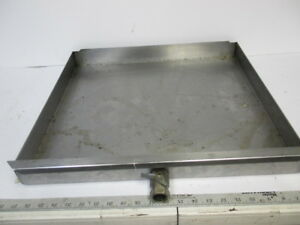 Hobart Hr7e Electric Rotisserie Oven Grease Catch Tray Drawer Pan W Drain Valve