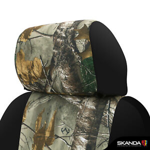 Coverking Realtree Xtra Camo Front Rear Custom Seat Covers For Toyota Tacoma