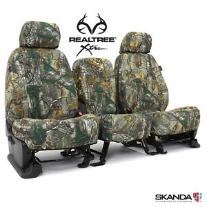 Coverking Realtree Xtra Camo Front Rear Custom Seat Covers For Ford F250