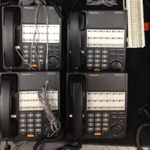 Panasonic Phone System 12 Units New Gently Used Condition Works Excrlle