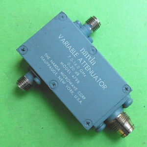 Narda 4798 Variable Attenuator 20db 7 18 Ghz