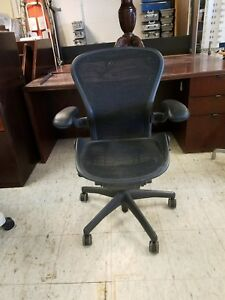 Herman Miller Aeron Office Chair Size B With Lumbar Support