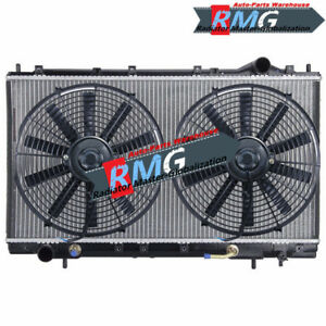 2023 Radiator For 1995 1999 Mitsubishi Sebring Eclipse 2 0 2 4 Fans