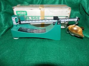 RCBS RELOADING 5-0-5 BULLET POWDER SCALE