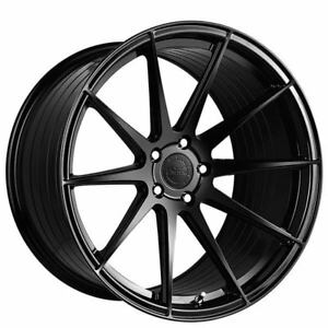 Set4 20 Vertini Wheels Rf1 3 Gloss Black Rims Fs