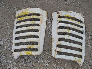 Oliver 77 88 Tractor Original Front Nose Cone Hood Grill Bar Bars Right