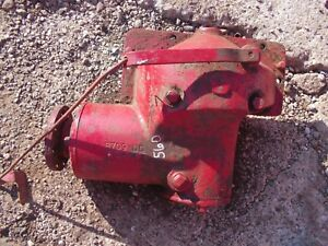Farmall 560 Rc Tractor Ih Ihc Belt Pulley Drive Assembly Rod