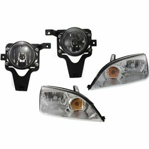 Auto Light Kit New Front For Ford Focus 2006 2007