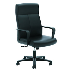 Hon Validate Leather Executive Chair High Back Armed Office Chair For Computer