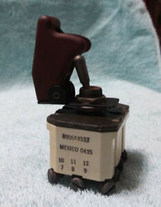 Military Generator Mep 804a Battle Short Switch 5930 01 368 2891 Or 88 21078