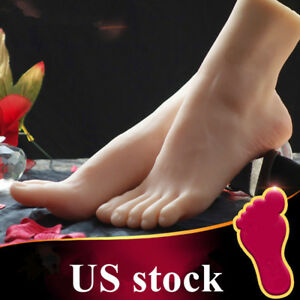 Female Feet Shoes Displays Model Legs Lifelike Mannequin One Left Or Right Us