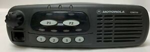 Motorola Cdm750 Uhf Mobile Radio 4 Channel 40 Watt 450 512mhz