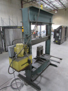 75 Ton Dake 8 075 Hydraulic H frame Press Shop Press
