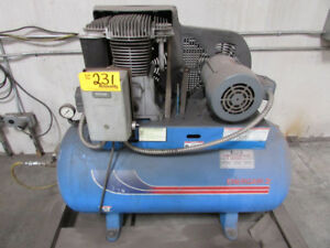 20 Cfm X 5 Hp Energair 5b50e60 Air Compressor W Starter 60 Gallon Tank