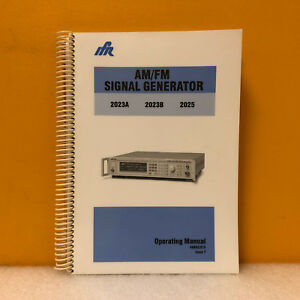 Ifr 46882 373 2023a 2023b 2025 Am fm Signal Generator Operating Manual