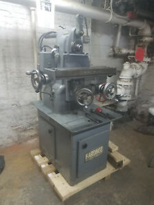 Hardinge Horizontal Mill With Power Feed Table arbor And Collets Included