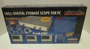 Velleman Pcs 500 Oscilloscope For Pc 1 Gs s Digital Storage No Probes software