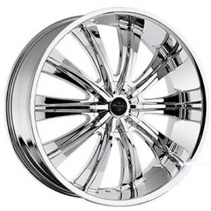 4rims 24 Versante Wheels Ve220 Chrome Rims Fs