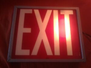 Exit Light Up Sign