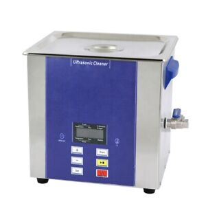 15l Industrial Ultrasonic Cleaner Digital Touch Control Lcd Show Dr ld150