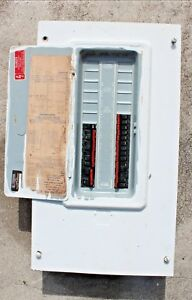 Circuit Panelboard Breaker Box 200 Amp 120 240 Volts Ac 1 Phase 3 Wire