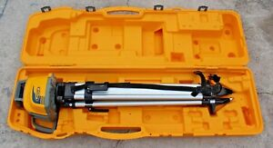 Spectra Ll300n Rotary Laser Self Leveling With Tripod Case