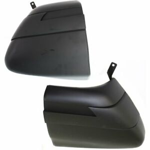 Set Of 2 Bumper Face Bar Ends New Rear Right and left Chevy S 10 Blazer Pair
