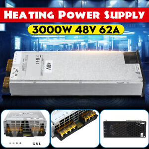 Induction Heater 3000w Heating Power Supply Input Unit Ac 220v Output Dc 48v 62a