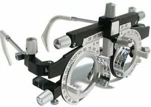 2 X New Optician Trial Frame Adjustable Rotating Trial Frame Ent Trial Frame