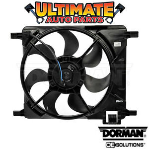 Radiator Cooling Fan 1 2l With A C For 16 17 Chevy Spark Classic Manual