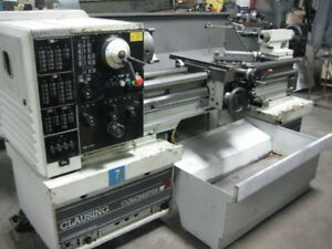 Clausing Colchester 15 X 50 Geared Head Lathe