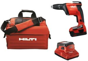 Hilti Screwdriver Cordless 22 volt Lithium Ion Battery Tool Bag Included