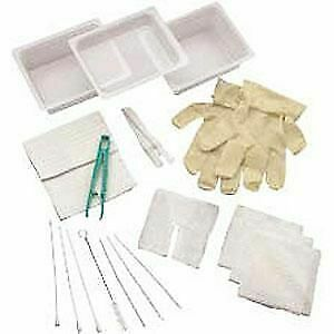 Complete Tracheostomy Cleaning Tray Without Gloves 4682a value Pack 4 Pack