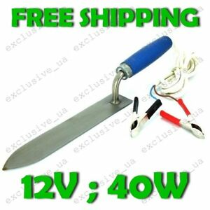Electric Knife Beekeeping Uncapping Decapping Bee Honey Equipment Hot Tool 12v