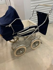 Classic Perego Vintage Antique Stroller Carriage Baby Buggy Made In Italy