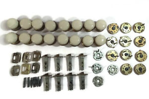 Lot Of Gainsborough Australia Porcelain Door Knobs Parts Preowned