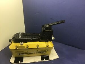 Enerpac Hydraulic Pump Double Acting 5 000 Psi 2 Liter