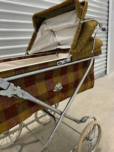 Vintage Antique Collier Baby Stroller Carrige Baby Buggy