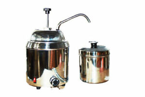 Hot Fudge Nacho Cheese Chocolate Dispenser Warmer 110v 220v