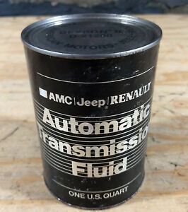 Amc Spirit Concord Eagle Pacer Etc Jeep Cj J10 Cherokee Nos Trans Fluid Oil Can