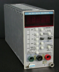 Tektronix Dm501a Option 2 Digital Multi meter Plug in Module For Tm500 Series