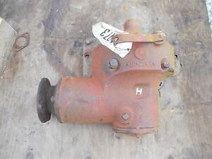 Farmall H Hv Early Sh Tractor Ih Ihc Belt Pulley Drive Assembly Engage Linkage