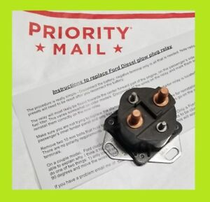 Made In Usa Ford Diesel Glow Plug Relay 6 9 And 7 3 Powerstroke