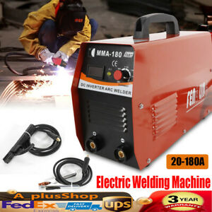 20 180a Ac110v 220v Mma Handheld Inverter Arc Welder Electric Welding Machine