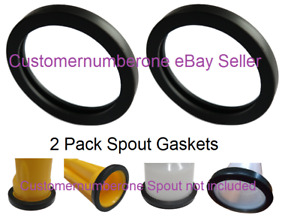2 Gas Spout Gasket Replacements Wedco Scepter Gott Rubbermaid Spout Not Included